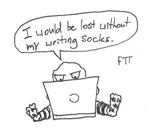 Writer socks